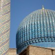 Tillya-Kori Temple in Samarkand, Uzbekistan