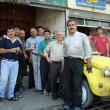 Group shot with mechanics, Iran